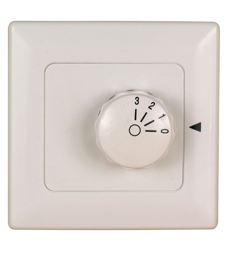 Fanimation C3-220 Signature White Wall Control, Fan Speed Only,Non-Reversing photo