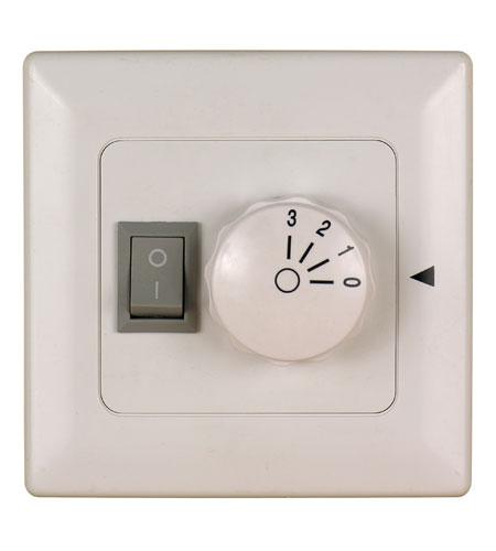 Fanimation Control Fan & Light (3-Speed/Non-Rev) Fan Accessory in White 220v C6-220 photo