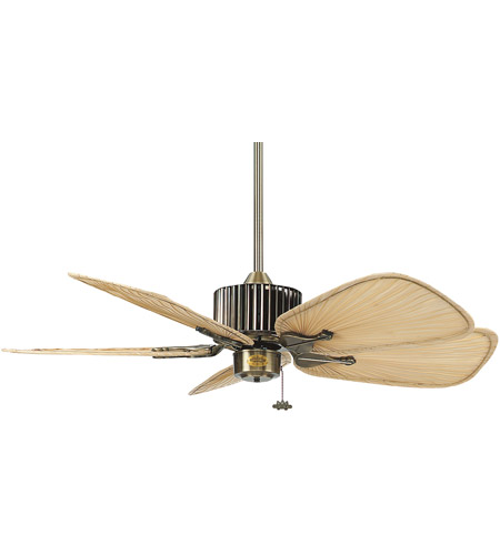 Fanimation ISP8 Palm Natural Palm 18 inch Set of 5 Fan Blades photo