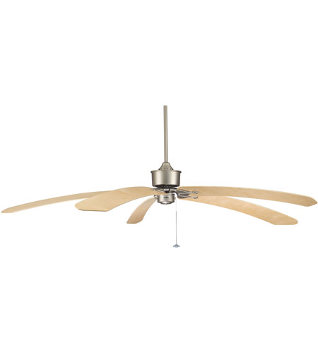 Fanimation Islander Fan Motor Only in Satin Nickel FP320SN photo