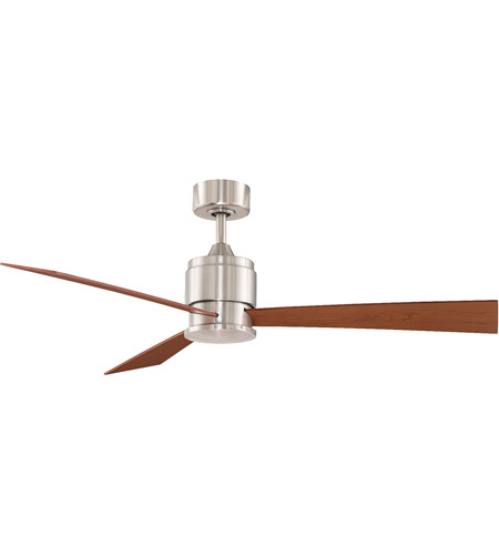 Fanimation FP4620BN Zonix 7 inch Brushed Nickel with Cherry/Walnut Blades Ceiling Fan in 110 Volts photo