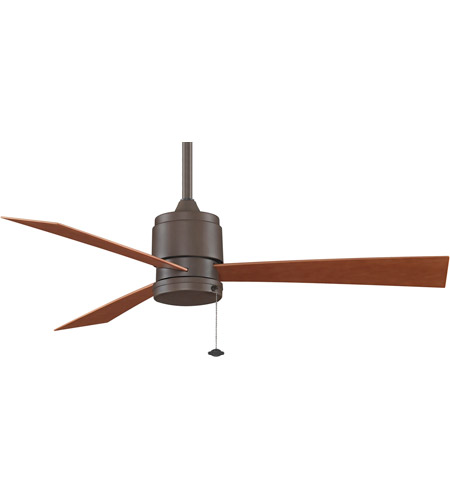 Fanimation Zonix Outdoor Ceiling Fan in Oil-Rubbed Bronze with Cherry Blades 220v FP4640OB-220 photo