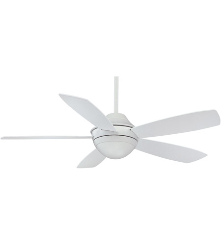 Fanimation Celano Indoor Ceiling Fan in Matte White with Matte White Blades FP5420MW photo