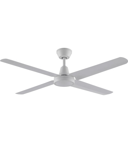 Fanimation Fp6717mw Ascension 54 Inch Matte White Ceiling Fan