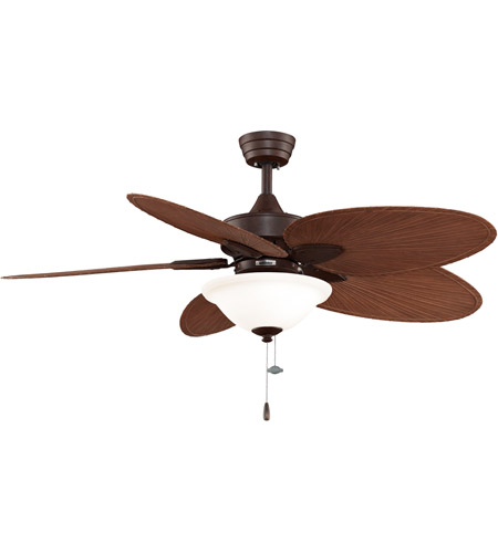Fanimation Windpointe Indoor Ceiling Fan in Rust with Red Brown Blades FP7500RSP4LK photo