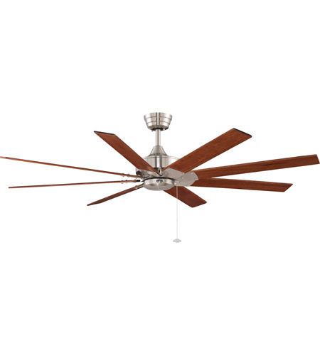 Fanimation Levon 63in 8-Blade Indoor Ceiling Fan in Brushed Nickel FP7910BN photo