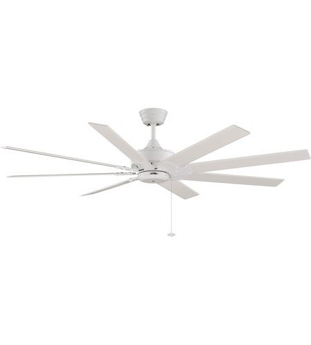 Fanimation Levon 63in 8-Blade Indoor Ceiling Fan in Matte White FP7910MW photo