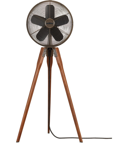 Fanimation Arden Pedestal Fan in Oil-Rubbed Bronze 220v FP8014OB-220 photo