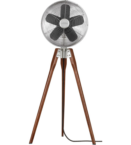 Fanimation Arden Pedestal Fan in Satin Nickel 220v FP8014SN-220 photo