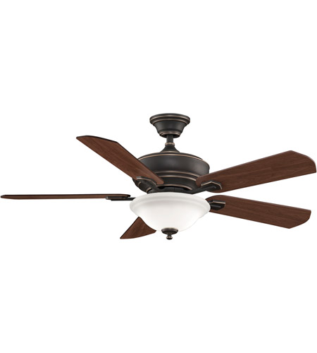 Fanimation Camhaven Indoor Ceiling Fan in Bronze Accent with Cherry/Walnut Blades FP8095BA photo