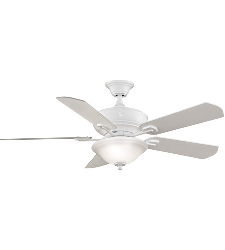 Fanimation Camhaven Indoor Ceiling Fan in White with White Blades FP8095WH photo