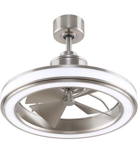 Gleam 16 Inch Brushed Nickel Ceiling Fan