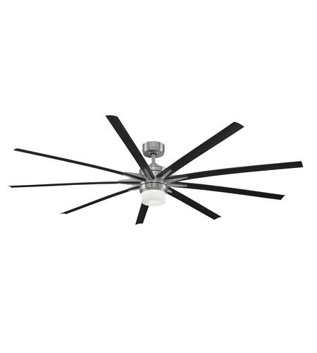 Fanimation Fpd8148bn 220 Odyn 84 Inch Brushed Nickel Ceiling Fan