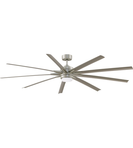 Fanimation FPD8159BNWBN Odyn 84 84 inch Brushed Nickel Indoor/Outdoor Ceiling Fan  photo