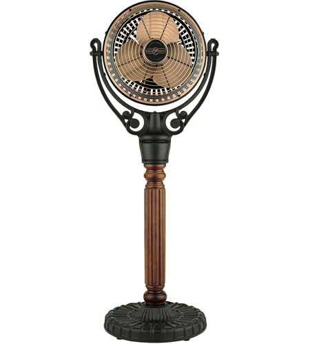 Fanimation Old Havana Pedestal Column Fan Accessory in Cherry Wood FPH70CP photo