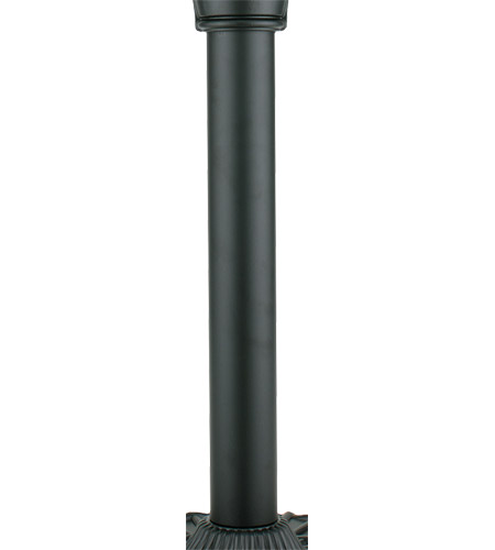Fanimation FPH70BL Old Havana Black Pedestal Column photo