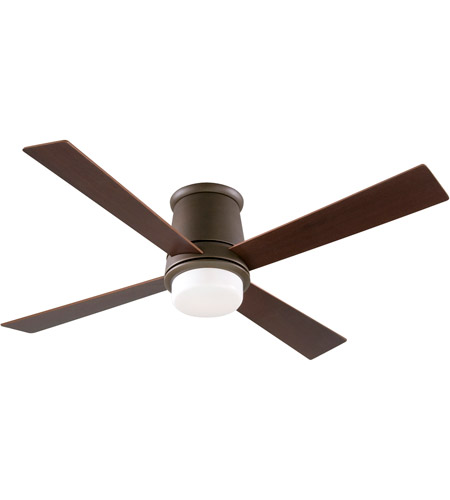 Fanimation FPS7880OB Inlet 52 inch Oil-Rubbed Bronze with Cherry/Walnut Blades Ceiling Fan photo