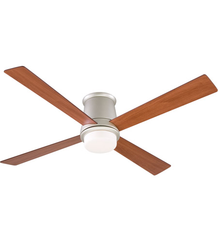 Fanimation FPS7880SN Inlet 52 inch Satin Nickel with Cherry/Walnut Blades Ceiling Fan photo