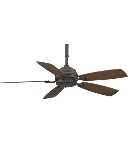 Fanimation Hubbardton Indoor Ceiling Fan in Bronze with Coffee Blades HF6050BZ photo