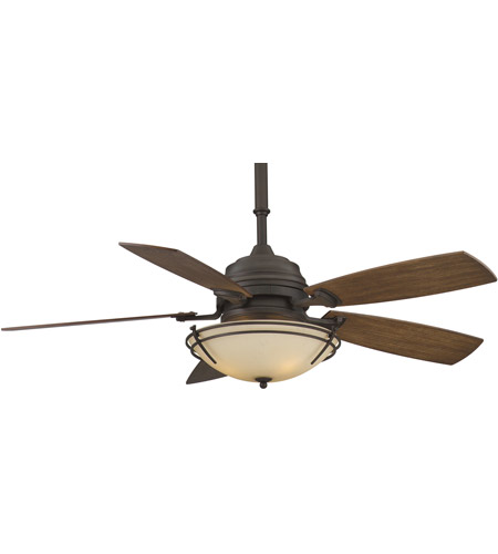 Fanimation Hubbardton Indoor Ceiling Fan in Bronze with Coffee Blades HF6600BZ photo