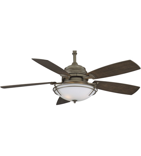Fanimation Hubbardton Indoor Ceiling Fan in Dark Smoke with Slate Blades HF6600DS photo