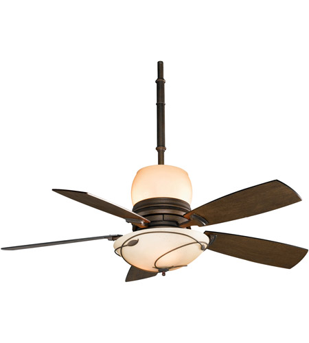 Fanimation Hubbardton Indoor Ceiling Fan in Bronze with Coffee Blades HF7200BZ photo