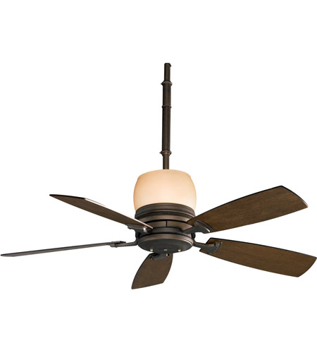 Fanimation Hubbardton Indoor Ceiling Fan in Bronze with Coffee Blades HF7240BZ photo