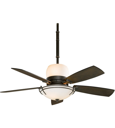 Fanimation Hubbardton Indoor Ceiling Fan in Dark Smoke with Slate Blades HF7600DS photo