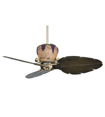 Fanimation Lk25ab Treventi 1 Light Antique Brass Fan Light Kit
