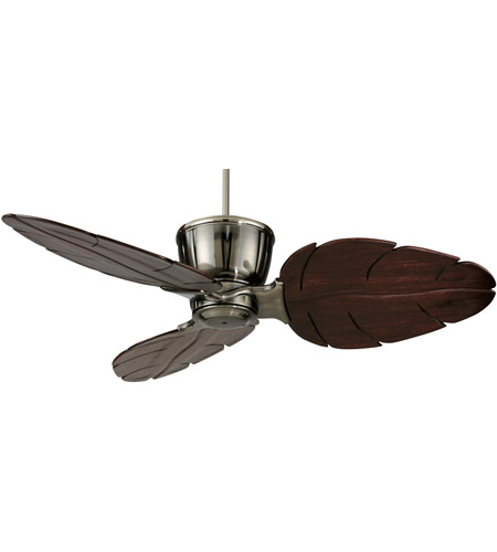 Fanimation Treventi Indoor Ceiling Fan in Pewter with Cairo Purple Carved Wood Blades LX25PW photo