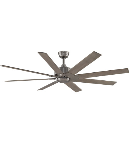 Fanimation Mad7912bbn Levon Custom Brushed Nickel Ceiling