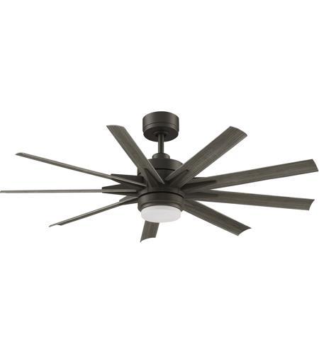 Fanimation Mad8152grw Odyn Custom Matte Greige Ceiling Fan