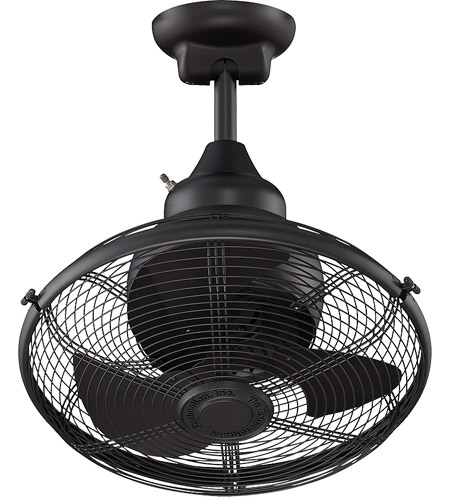 Fanimation Of110bl Extraordinaire 18 Inch Black Ceiling