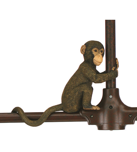 Fanimation P48 Palisade Brown Decorative Monkey photo