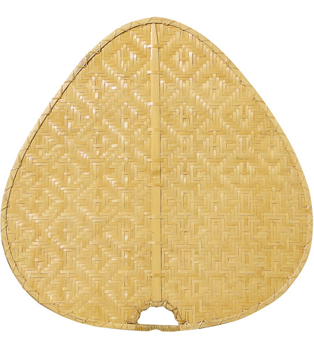 Fanimation PAD1C Palisade Clear 22 inch Set of 8 Fan Blade in Clear Woven Bamboo photo