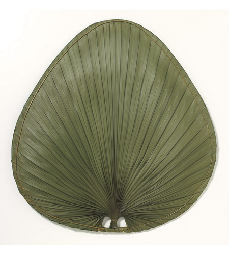 Fanimation Isle Palm Wide Oval 22in Blade Set in Green Natural Palm ISP1GR photo