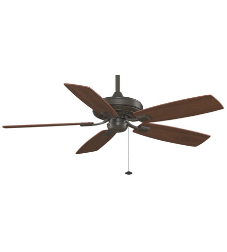 Fanimation TF610OB Edgewood 52 inch Oil-Rubbed Bronze with Cherry/Walnut Blades Ceiling Fan alternative photo thumbnail
