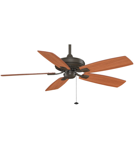 Fanimation TF610OB Edgewood 52 inch Oil-Rubbed Bronze with Cherry/Walnut Blades Ceiling Fan photo thumbnail