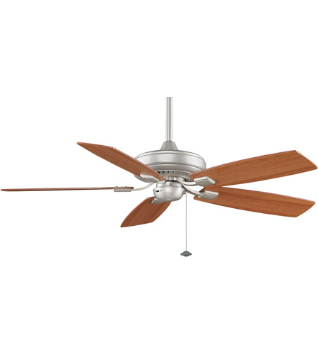 Fanimation TF610SN Edgewood 12 inch Satin Nickel with Walnut/Light Walnut Blades Ceiling Fan photo