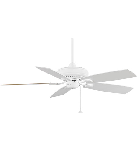 Fanimation TF610WH Edgewood 12 inch White with White/White Oak Blades Ceiling Fan photo