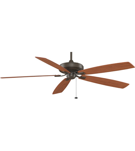 Fanimation Edgewood Indoor Ceiling Fan in Oil-Rubbed Bronze with Cherry/Walnut Blades TF721OB photo