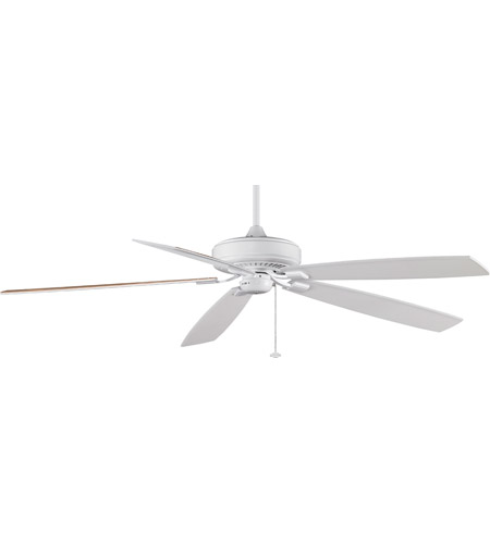 Fanimation TF721WH Edgewood 72 inch White with White/White Oak Blades Ceiling Fan photo