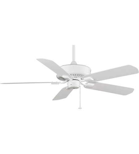 Fanimation TF910WH-220 Edgewood 12 inch White Ceiling Fan in 220 Volts photo thumbnail