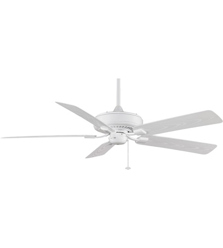 Fanimation Edgewood Outdoor Ceiling Fan in White with White Blades TF971WH photo