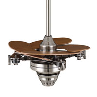 Fanimation Air Shadow Mechanical Indoor Ceiling Fan in Pewter with Cherry Blades FP820PW