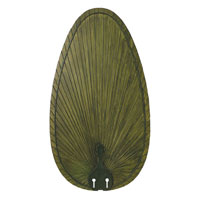 Fanimation BPP4GR Signature Green 22 inch Set of 5 Fan Blade in Composite Palm Green alternative photo thumbnail