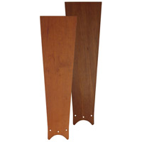 Fanimation Zonix Cherry/Walnut Reversible 20in Blade Set in Cherry/Walnut Reversible B4442CWR