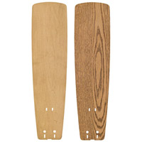 Fanimation B5133MOMP Signature Medium Oak and Maple 22 inch Set of 5 Fan Blade in Medium Oak/Maple