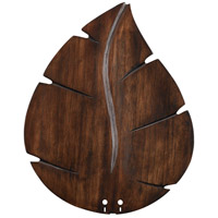 Wood Walnut 22 inch Set of 5 Fan Blades