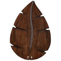 Wood Walnut 26 inch Set of 5 Fan Blades